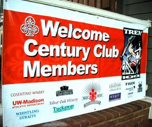 2004: PHH joins the Trek 100 Century Club, for riders raising $1000 or more