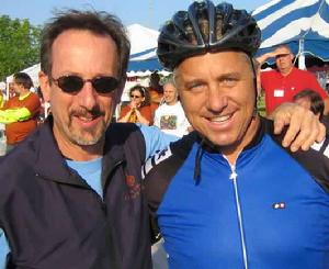 You again? PHH with Greg Le Mond at the 2006 ride