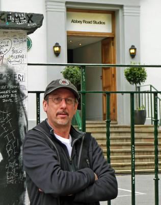 The very fun �Beatles Walk� concludes at Abbey Road Studios, scene of many, many hours of collaboration between the Beatles and producer George Martin.