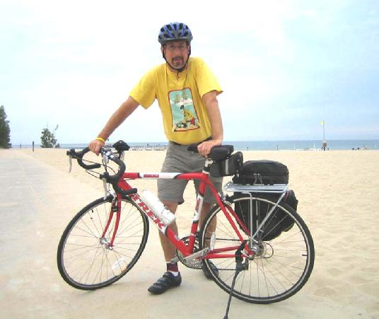 My 2005 ride: Grand Haven to Holland, Michigan and back